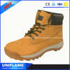 革鋼鉄つま先の中東安全靴Ufa096