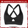 Noir de soutien-gorge de yoga d'usure de gymnastique de Clothinglatest de femmes (ELTSBI-21)