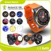 3Gは5.1匹のアンドロイドシステムWiFi Bluetooth GSM歩数計の心拍数GPSのスマートな腕時計によって来る