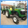 China Mini Tractor de jardín 55HP Tractor de granja agrícola compacto con arranque eléctrico