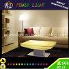 Tabella ricaricabile impermeabile variopinta della mobilia LED del salotto
