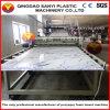 Ligne d'extrudeuse de feuille de /Panel/Plastic de panneau de mur de décoration intérieure de marbre de Faux de PVC