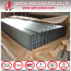 Feuille ondulée galvanisée de toiture d'acier enduit de zinc