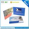 Cubierta de Papel Impreso 4.3 pulgadas de pantalla táctil LCD de la tarjeta de felicitación de vídeo Folleto Folleto