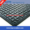 Balck Grey 반대로 Slip 3mm Pyramid Rubber Matting Floor