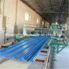 Material de compuesto reforzado de fibra de vidrio translúcido de la máquina para la hoja de techo ondulado