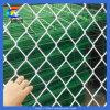 Engranzamento revestido da cerca da ligação Chain do PVC