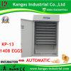 Utilisation de ferme commercial automatique d'oeufs de poulet incubateur pour 1500 d'oeufs (EC approuvés/SGS)