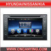 Speciale Car DVD Player voor Hyundai/Nissan/KIA met GPS, Bluetooth. (CY-1065)