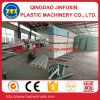 PVC-Aufbau-Kruste-Schaum-Blatt-Strangpresßling-Maschine