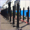 Цилиндр действующий высокого качества действовать/двойника заказа стального тела подгонянный материалом одиночный телескопичный гидровлический
