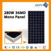 panneau solaire mono de 36V 280W