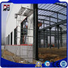 Edificios ligeros modificados para requisitos particulares casa prefabricada de las estructuras de acero para el almacén del taller