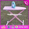 Novos produtos Crianças Pretend Play Brinquedo de madeira Mesa de passar roupa W10d151