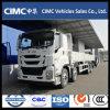 中国新いすゞ Giga Vc61 8x4 12 Wheeler 460HP Dropside カーゴトラック 9.6m