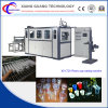 Vacío plástico de la taza del control de alta velocidad del PLC del comerciante que forma la máquina
