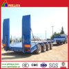 4 de l'essieu 100ton Lowboy de bâti de camion remorque inférieure semi