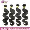 Черный клубок и отказа от свободного бразильского 100 человеческого волоса Extensions