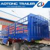 2 de Semi Aanhangwagen van de Staak van de as voor Vervoer van de Koe in de Markt van Australië