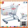 Supermarkt-amerikanische Art-Zink-Einkaufen-Laufkatze (Zht37)