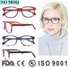 Marcas de óculos italiano Eye estrutura óptica de vidro para óculos de mulheres