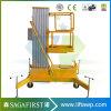 платформа работы воздушного рангоута 12m передвижная электрическая вертикальная