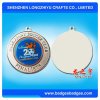 Alliage de zinc Médaille Médaille ronde en métal avec logo de l'émail