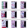 De rugdekking van het Beeldverhaal TPU+PC van het Patroon van af:drukken voor iPhone 8/8plus