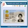 Cartão da identificação do policarbonato da alta qualidade para o uso da identificação do residente