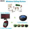 Restaurante Servicio inalámbrico Sistema de llamadas Wireless Pager Electrónico K-4-C + Y-650 + H3-B
