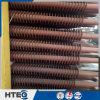 Tube d'ailette spiralé matériel de carbone et d'acier inoxydable pour l'économiseur de chaudière
