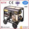 Einfache Kälte, die Dieselgenerator-Set (6KW, beginnt)