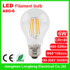A60 LED Filament Light 6W (A60-6)