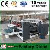 Высокоскоростная гофрированная бумага Zx-2000 складывая и клея машину