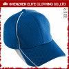 Kundenspezifisches Firmenzeichen-Ineinander greifen-Polyester Sports Baseballmütze
