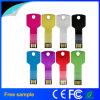 2016卸し売りカスタムロゴの金属のキーの形8GB USBの棒