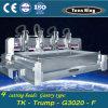 3000 * 2000mm Vier Kopf gestellt Setzer Water Jet
