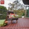 屋外のバルコニー台地WPCのDeckingのための木製のプラスチック合成のデッキ