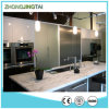 Surface solido White Quartz Stone Vanity Countertop per Bathroom