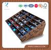 Изготовленный на заказ деревянный витринный шкаф солнечных очков розницы витринного шкафа
