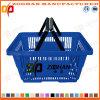Haltbarer Supermarkt-Plastikeinkaufskorb (Zhb8)