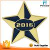 2016 파란과 Gold Star Lapel Pin