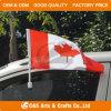 De Vlag & de Vlaggestok van de Auto van de Polyester van het Ontwerp van de douane