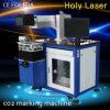 Laser de alta velocidade Markingmachine do metalóide