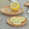 Zolla della zolla di dessert di legno di faggio l'intera, melone semina il disco, noci, grande zolla di legno rotonda