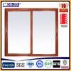 Aluminio Doble ventana de cristal deslizante con Australia Certificado
