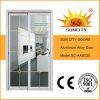 Blanc de prix bas glissant les portes en aluminium Sc-Aad030 de toilette
