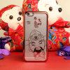 Китайский тип гальванизируя iPhone 6 аргументы за сотового телефона картины Caishenye облегченное пластичное
