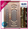 2017年の中国の最上質の外部の金属の鋼鉄機密保護のドア(EF-S132)