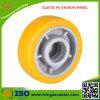 Industrielles elastisches Polyurethan-Fußrollen-Rad